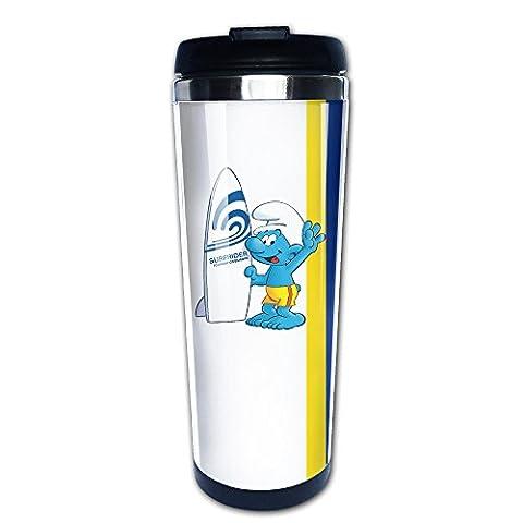 Zengtaoqi Shin (géorgien) Schtroumpf Thermos de café/une main Vacuum Mug/tasse en acier inoxydable