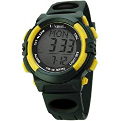 Lifemax Talking Atomic Digital Watch 429