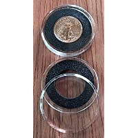 10 Black Ring Type 16mm Air Tite Coin Holders for 1/10oz Gold Eagles by Air-Tite