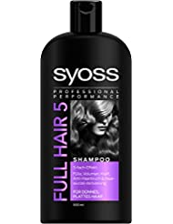 Syoss Shampoo Full Hair 5, 3er Pack (3 x 500 ml)