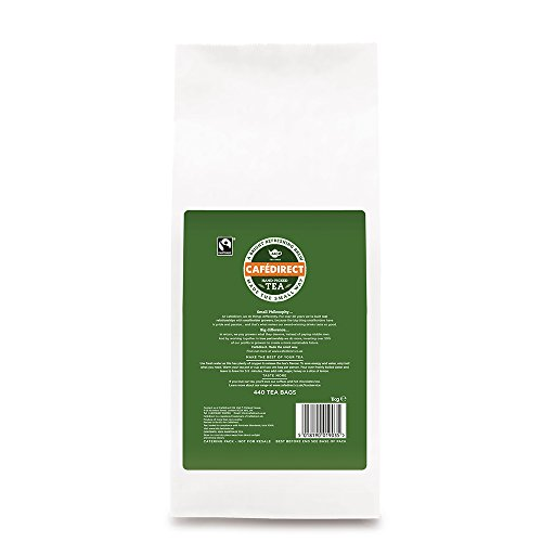 NO.1 COFFEE & TEA PRODUCTS TEA DIRECT FAIRTRADE ONE CUP TEA BAG PACK OF 440 BEST BUY REVIEWS UK