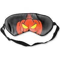 Kürbis Halloween-Augenmaske aus Seide, bequem, Schlafmaske preisvergleich bei billige-tabletten.eu