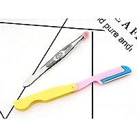 NqceKsrdfzn Extrem tragbar 2 Stück Nagel Make-up-Tool Set Augenbraue Rasierer Augenbraue Clip Set preisvergleich bei billige-tabletten.eu