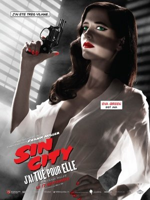 SIN CITY : A DAME TO KILL FOR – French Imported Movie Wall Poster Print – 30CM X 43CM Brand New Eva Green (Dvd Dame Für City Sin Kill To)