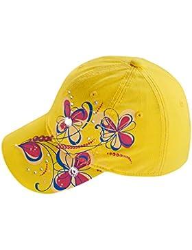EveryHead Fiebig Gorra De Niña Casquillo Los Niños Capacete Béisbol Cappy Cappie Del Verano Estampado Flores Diamantes...