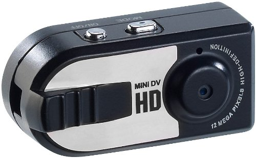 Somikon Mikrokamera: HD-Mini-Kamera AC-960.hd mit Öse zum Aufhängen (Kamera Spion)