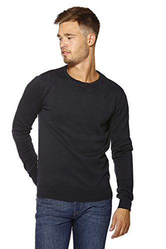 Replay Men's Navy Blue Knitted Jumper Navy Blue