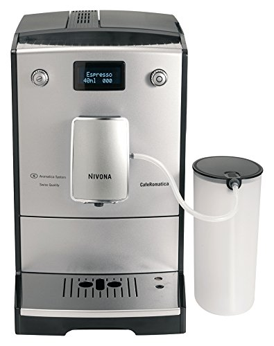 Nivona CafeRomatica 767 Freestanding fully-auto Espresso Machine 2L 2 Cups Chrome,...