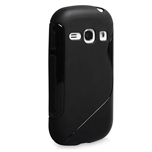 Samsung Galaxy Fame Duos Back Cover , [GT-S6812] S-Line Black Soft Silicon Back Cover Case  available at amazon for Rs.179