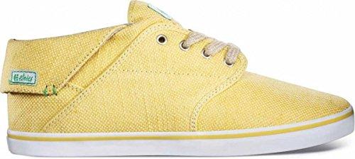 Etnies Skateboard Women Schuhe Caprice Mid Eco Yellow/White, Schuhgrösse:41.5 (Womens Lakai Schuhe)