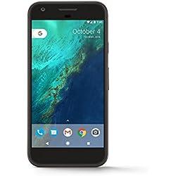 "Google Pixel 5"" Single SIM 4G 4GB 32GB 2770mAh Black - Smartphones (12.7 cm (5""), 32 GB, 12.3 MP, Android, 7.1, Black)"