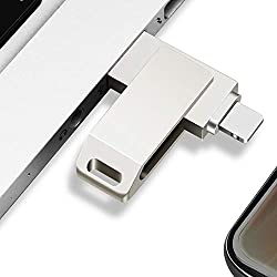 Kuizhiren1 Clé USB USB 3.0 8 broches disque U pour iPhone PC et ordinateur portable, 16GB