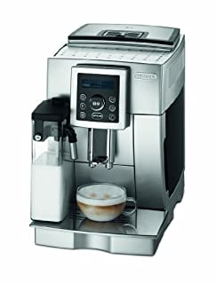 DeLonghi One Touch ECAM 23.450.S Kaffee-Vollautomat Cappuccino (1.8 l, 15 bar, integriertes Milchsystem, IFD System) silber (B002OHDBLC) | Amazon price tracker / tracking, Amazon price history charts, Amazon price watches, Amazon price drop alerts