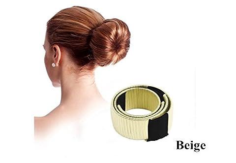 Godhl Donut Hair Bun Maker Styling Outil Fashion Accessoire de coiffure pour mariée chignon cheveux tresse