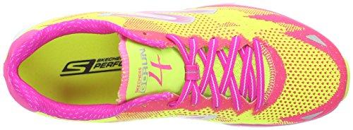 Skechers GO Run 4-2016 - Scarpe Running Donna Multicolore (LMHP)