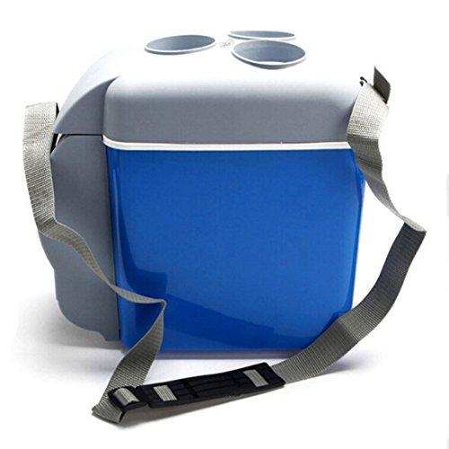 Mini Kühlschrank,Mingting 12V 7,5L Auto Mini Kühlschrank Tragbare Kühlbox Kühler Wärmer Warmhaltebox für Auto Camping