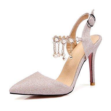 Zormey Frauen Heels Frühling Sommer Club Schuhe Komfort Neuheit Glitter Kundenspezifischen Materialien Hochzeit Büro & Amp; Karriere Party & Amp; Abendkleid Casual US10.5 / EU42 / UK8.5 / CN43