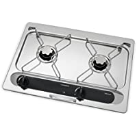 Dometic ORIGO A200, Einbau-Spiritus-Kocher, für Boot, Wohnmobil oder Camping-Küche, 2-flammig,  kompakt
