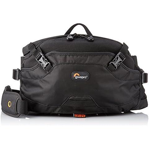 Lowepro Inverse 200 AW - Bolsa riñonera para cámaras, negro