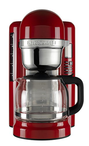 KitchenAid 5kcm1204eer Cafetera Eléctrica Empire Rojo