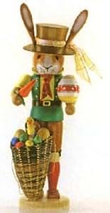 Mr Lapin de Pâques allemand Casse-noisettes