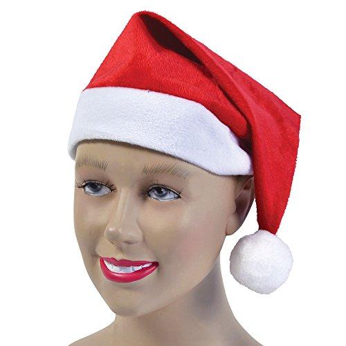 Bristol Novelty BH549 Weihnachtsmütze, Velours, Einheitsgröße
