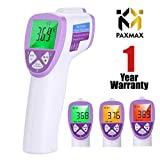 PAXMAX Digital Infrared Forehead Thermometer for baby & adults for fever Non Contact