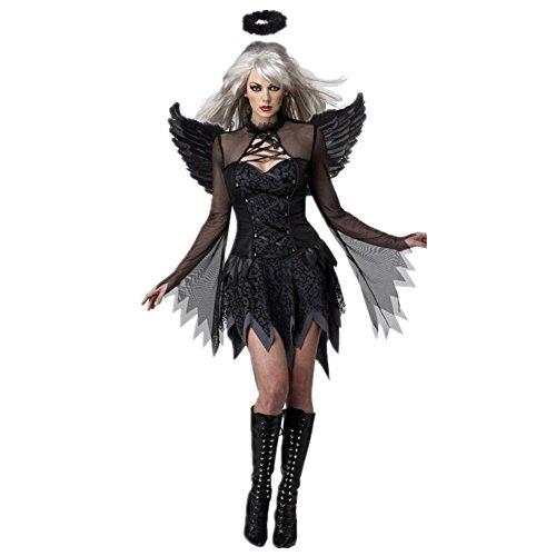 Disfraz de Ángel Negro (ángel caído)