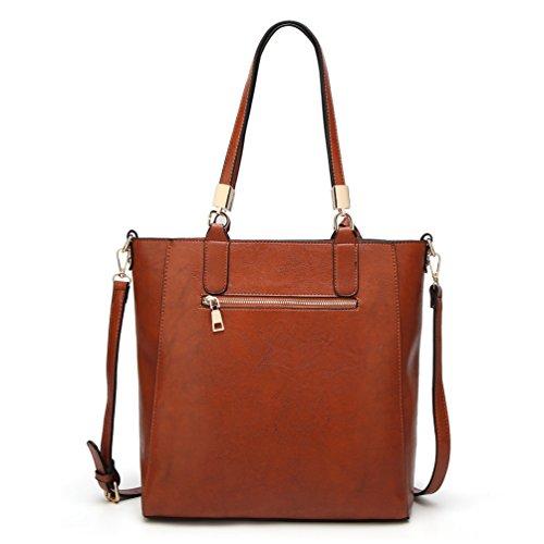 YiLianDa Borsa a Tracolla Nuovo Casuale Borsa delle Donne Messenger Bag come immagine(3)
