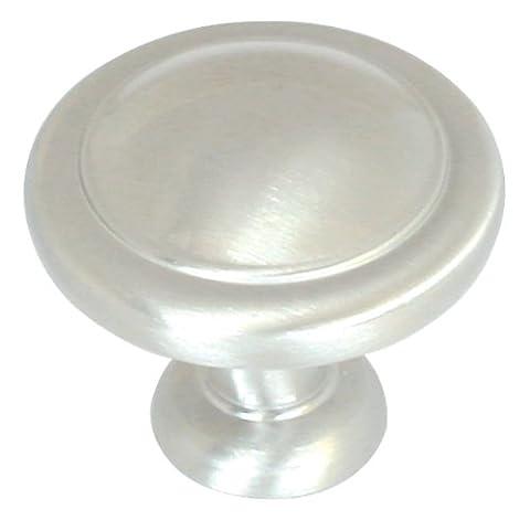 Amerock BP1387G9 Reflections Round Knob, Sterling Nickel,