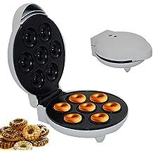Multifuncional Cocina Postre Máquina de buñuelo, 1200W Casa Completamente automatico Temperatura constante Bandeja de hornear