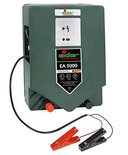 Weidezaungerät EIDER EA 5000 ( Premium-Line ) 12 Volt / 230 Volt Hybridgerät - Wahnsinnige 7,40 Joule - Für lange Zaunanlagen - Made in Germany