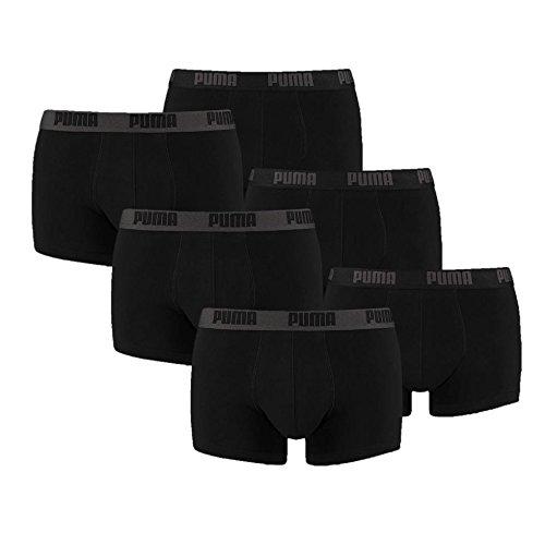 PUMA Herren Spezialpack Boxer Boxershort 6er Pack (Schwarz-Black, L)