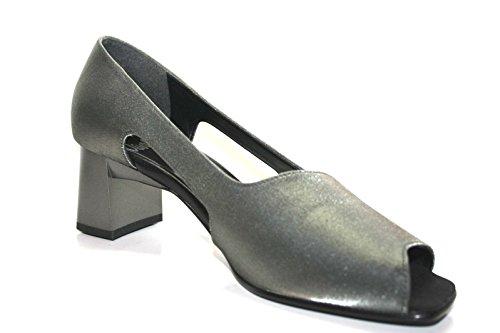 Oswald , Escarpins pour femme Gris Gris gris/argent