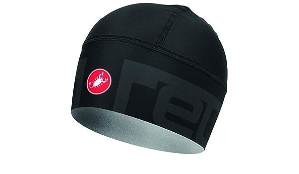 Castelli Viva2 Thermo Headband Light Black Size OSFA