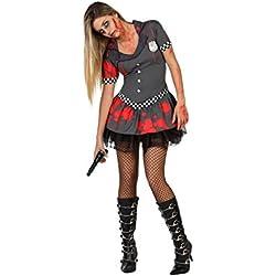 Atosa - 22678 - Disfraz - Disfraz De Policía Sexy Zombie - Adulto - T-1