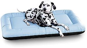Dieses Hundebett von Knuffelwuff ist ein leichtes, robustes, schnell und einfach zu reinigendes Hundebett in dem sich Ihr Hund wohlfühlt. Durch die hohe Festigkeit des gesammten Bettes ist es zudem noch sehr leicht zu Transportieren.  Produktbeschrei...