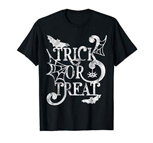 Und Trick Kostüm Treat - Halloween Trick Or Treat Kostüm T-Shirt