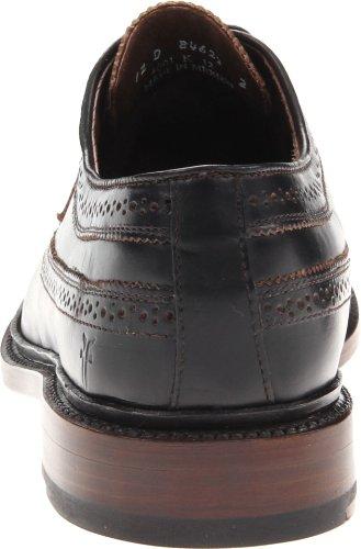 Frye James Wingtip, Chaussures de ville homme Noir (Blk)