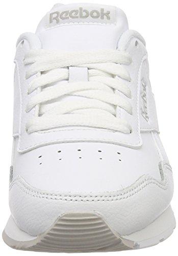 Reebok Damen Royal Glide Turnschuhe Weiß (White/steel/reebok Royal 0)