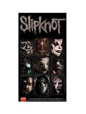 Mick Slipknot Maske (Slipknot Masken Aufkleber)