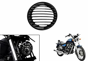 Speedwav Harley Style Headlight Cover Grill-Horizontal-R_Enfield Thunderbird 350 Type 2