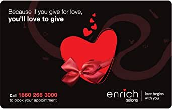 Enrich Salons Gift Card - Rs.3000