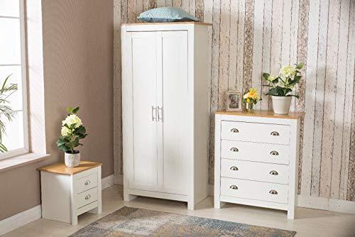 Furnituremaxi Set di mobili per Camera da Letto 2/3 Ante Armadio ...