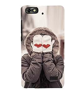 EPICCASE Cute Love Mobile Back Case Cover For Xiaomi Redmi Mi4i (Designer Case)