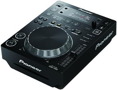 Pioneer CDJ-350 mezclador DJ - Mezclador para DJ (24 Bit, 97 Db, 0.007 %, 18 W, 218 x 301.1 x 106.6 mm, 3200 g)