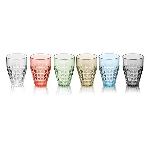 Hohe Gläser, Modell Tiffany, 6 Stück