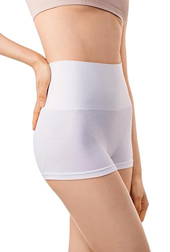 685c849d3a MD Womens Shapewear Compression High Waisted Boyshort Rear And Bottom Body  Shaper Small White - Buy Online in Oman.