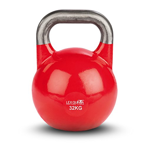 Lex Quinta Competition Kettlebell - die Wettkampf Kugelhantel - 32kg rot