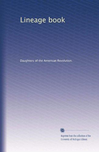 Lineage book (Volume 3)